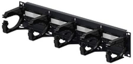 Commscope PM-GS3-24 W/Termination MGT. | 760062356 24-Port Black Cat-6 UTP Copper Patch Panel