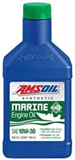 Amsoil 10W-30 Synthetic Marine Engine Oil (1 Quart)