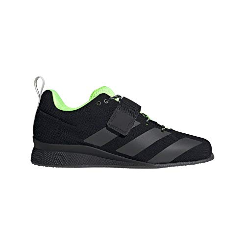 adidas Adipower Weightlifting II, Chaussures d'haltérophilie Homme, Negbás/Grisei/Versen, 46 EU