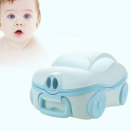 LOHOX Pot Bébé Toilette Amovible Abattant Toilette Siège de Toilettes Trainer Pot WC Dossier Confortable Pot bébé pour Chaise Bébé Enfants