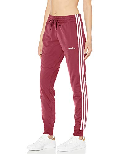 adidas womens Essentials Pants Legacy Red Small