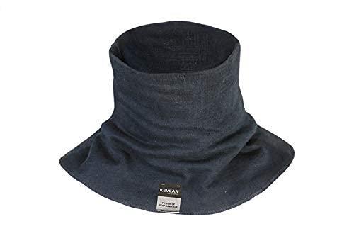 New Kevlar Welding XL (Good Fit Sizes XL 2XL 3XL) Neck Protection by BSV - Cut, Scratch & Heat Resistant Neck Protector/Gaiter, 100% Kevlar by DuPont- Protection for Men & Women (Black) Extra Large