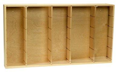 Schuco 452996000 - Vitrine Landwirtschaft aus Holz für Modelle 1:87, Maße des Setzkastens 697 x 380 x 94 mm