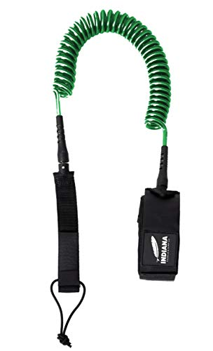 Indiana Coil Leash SUP -Green-