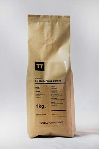 Cafe en grano natural Arabica 100 % - Espresso - 1kg - Finca La Bella - Villa Sarchi - Tusell Tostadores