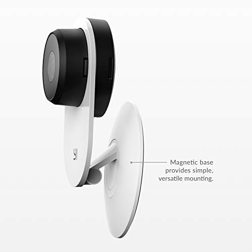 YI 2pc Smart Security Camera 3, AI-Powered 1080p Home Camera System IP Cam with 24/7 Emergency Response, Human Detection, Sound Analystics, 2.4G Wi-Fi, Phone/PC App - Works with Alexa