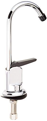 HOMEWERKS WORLDWIDE 3310-160-CH-B-Z Single Hole 1-Handle Low-Arc Drinking Water Faucet, Chrome Finish