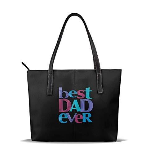 Lässige Ledertasche für Damen Große Umhängetasche - Beste Papiertasche aller Zeiten für Arbeit und Reisen