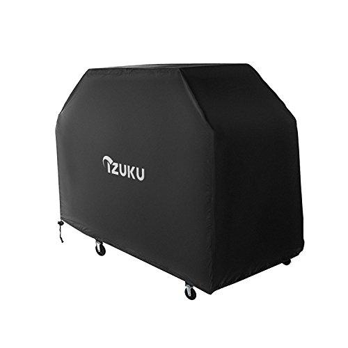 IZUKU Copertura Barbecue Impermeabile Telo Protettivo per BBQ Grill Anti Pioggia Polvere Sole Neve Tessuto Oxford 145x61x117cm (PRO)