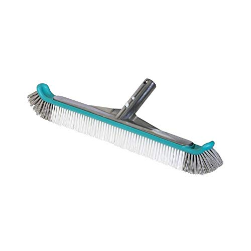 Gre 40046N - Cepillo Aluminio para Limpiar Fondo y Paredes de Piscina, 45 cm