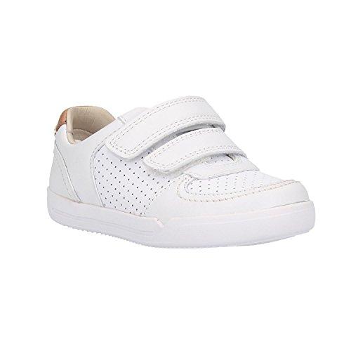 Clarks Zapatilla 26133443 Mini EXRA White