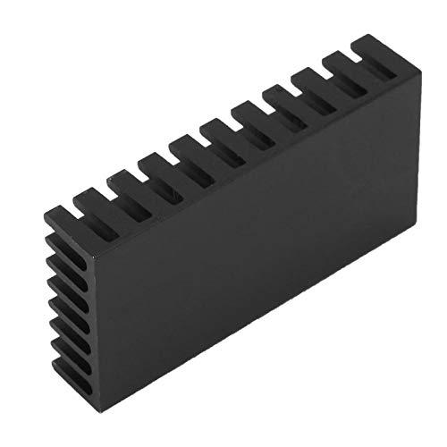 Disipador de calor de aluminio de la resistencia de la aleta de enfriamiento 5pcs para el chip electrónico de la CPU