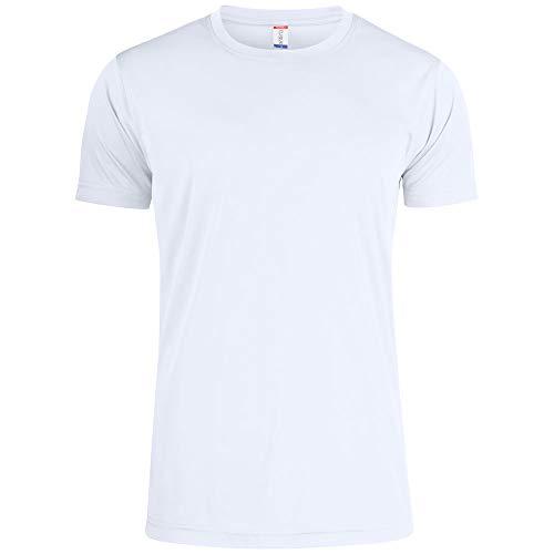 Atmungsaktives Herren T-Shirt für Fitness, Sport u. Freizeit, UV50 Sonnenschutz, 100% Polyester, Männer Sportshirt aus umweltfreundlichem Spin-Dye-Stoff, versch. Farben,...
