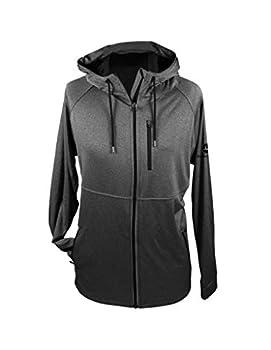 John Deere Men s Reflective Full Zip Hoodie-Charcoal-XL