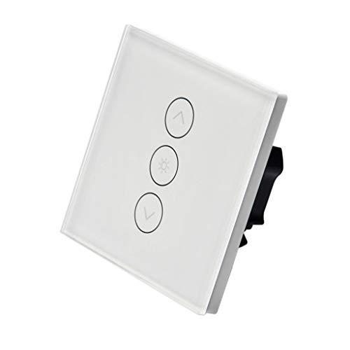 Konyks Interi, Interrupteur WiFi encastrable, variateur d'intensité, compatible avec Alexa et Google Home, remplace votre interrupteur classique, aucun hub, automatisations faciles