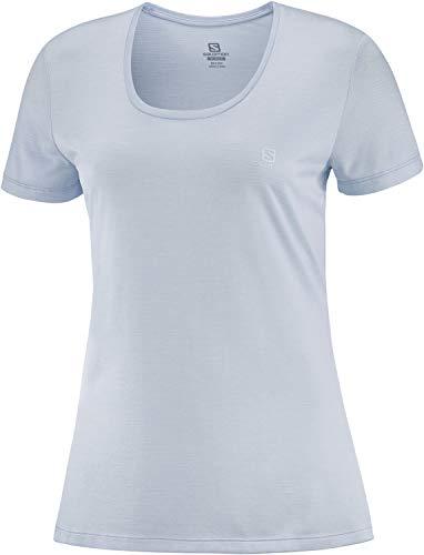 SALOMON Agile Camiseta Deportiva De Manga Corta Para Mujer
