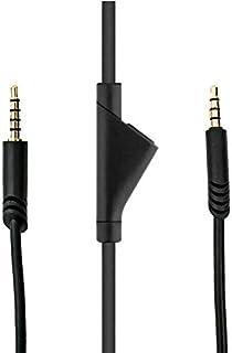 كيبل ايه 10 الصوتي بطول 2 متر 6 اقدام لسماعات العاب استرو ايه 10 مع زر مدمج لكتم الصوت. لكتم الميكروفون، يمكنك استخدام الز...