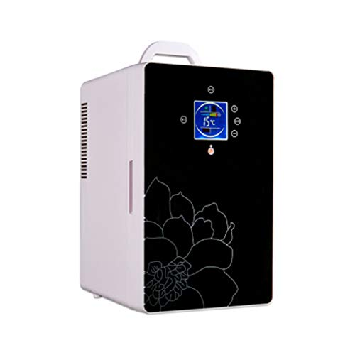 Car Refrigerator 16L Dual Core Mini Refrigerated Small Refrigerator Micro Refrigerator Portable Student Car Refrigerator