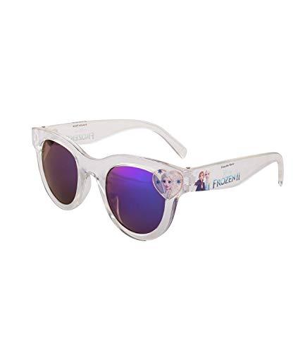 SIX Disney Frozen Kids Sonnenbrille transparent mit Herz mit ELSA Motiv, die Eiskönigin, UV400-Filter, Linsen-Kategorie 3 (128-942)