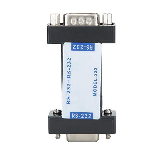 Diyeeni RS232 auf RS232 Seriell Ports Optischer Isolator DB9 RS232 Isolierter Schnittstellenadapter