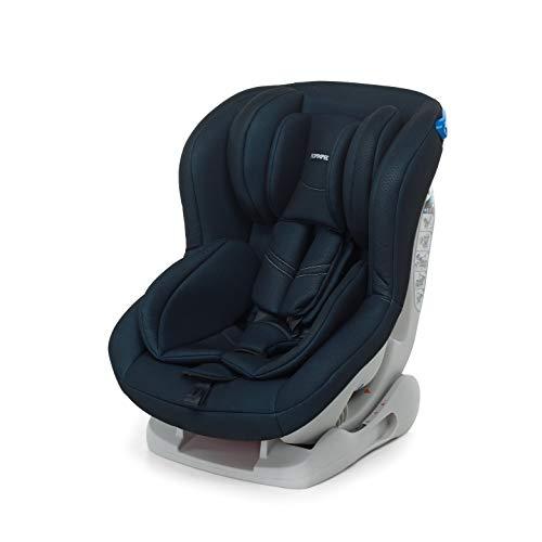 Foppapedretti Mydrive Seggiolino Auto, Gruppo 0/1 (0-18kg), per Bambini dalla Nascita Fino a 4 Anni Circa, Nero
