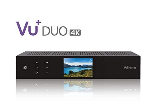 VU+ Duo 4K 1x DVB-S2X FBC Twin Tuner 1 TB HDD Linux Receiver UHD 2160p
