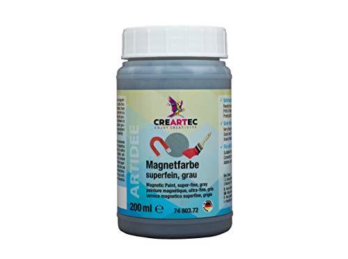 Magnetfarbe superfein Grau