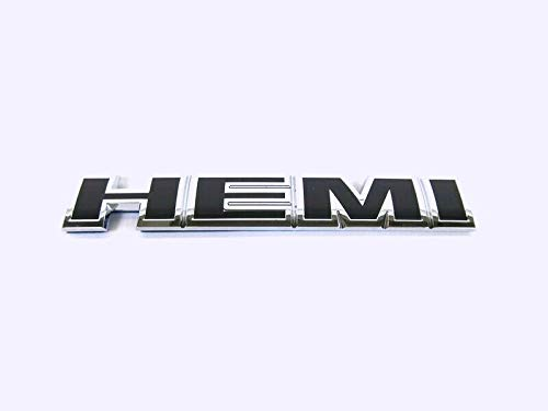 Fit tо 2009-2010 DОDGЕ СНАLLЕNGЕR HEMI Hооd Emblem Blаck Chrоme New Genuine МОРАR