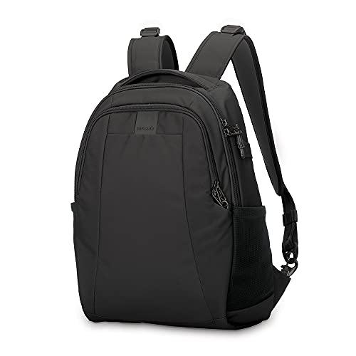 PacSafe Metrosafe LS350 anti-theft 15L backpack Rucksack, 42 cm, 15 liters, Schwarz (Black 100)