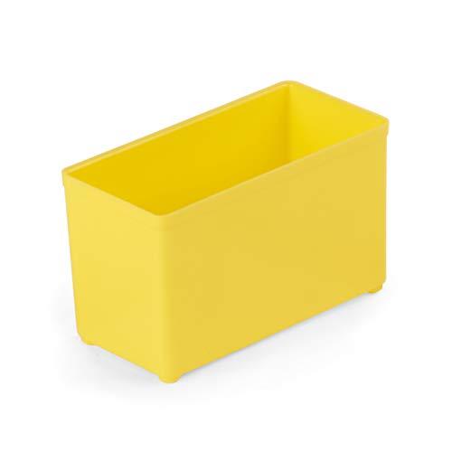 Sortimo Insetbox gelb | Bosch Sortimo Insetboxenset B3 | 10 Stück | Ideale Einsatzboxen für Sortimentskästen | Bosch Sortimo L-BOXX