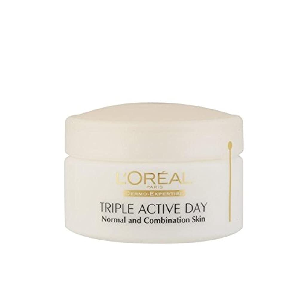 わずらわしい港騒ぎL'Oreal Paris Dermo Expertise Triple Active Multi-Protection Day Moistriser - Normal / Combination (50ml) - ロレアルパリ?ダーモ専門知識トリプルアクティブマルチプロテクション日 - ノーマル/コンビネーション(50ミリリットル) [並行輸入品]