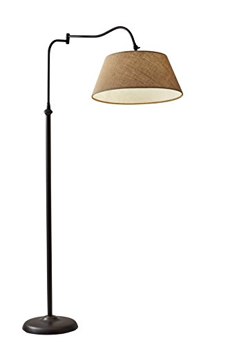 Adesso 3349-26 Transitional Rodeo, Floor Lamp, 61'