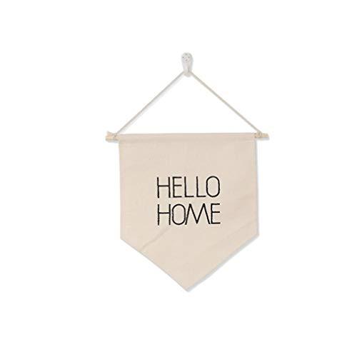 unknow Zoomne Wand Bildschirm Leinwand Banner Hallo Home Pin Abzeichen Brosche Lagerung Flagge hängen Wimpel Banner,Stil 6