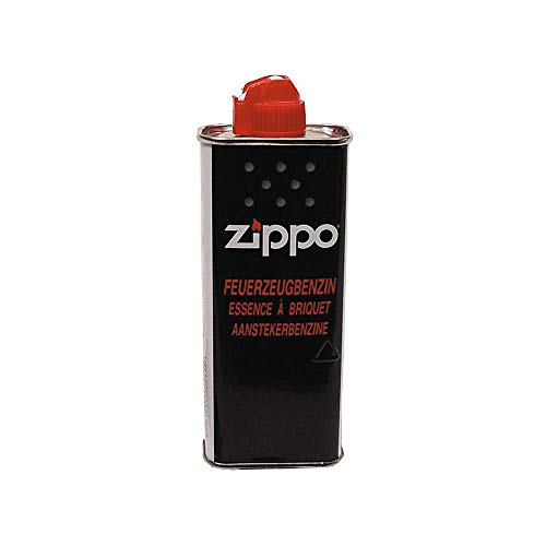 Eva Shop® Original Zippo Premium Feuerzeugbenzin - 125ml Benzin für Sturmfeuerzeug, Feuerzeuge, Feuerstarter UVM.