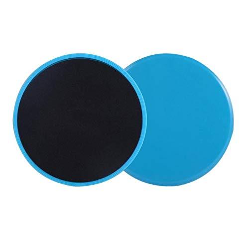 S-Vntrendy - 2pcs Gliding Discs Slider Fitness Disc Exercise Sliding Plate for Yoga Gym Abdominal Core Training Exercise Equipment