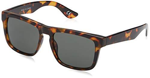Vans Squared Off Gafas de sol, Marrón (Cheetah Tortoise-Dark Green), 50 para Hombre