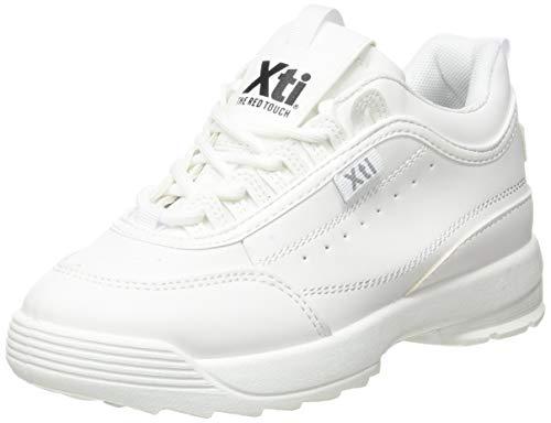 XTI 57478, Zapatillas Niñas, Blanco, 29 EU