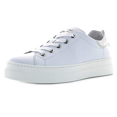 Nero Giardini E010663D Sneaker Bianco/Argento 37 - Primavera Estate