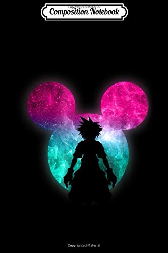Composition Notebook: Disney Kingdom Hearts Mickey Galactic Clouds  Journal/Notebook Blank Lined Ruled 6x9 100 Pages