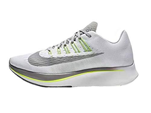Nike Men's Zoom Fly Competition Running Shoes, Multicolour (White/Gunsmoke/Atmosphere Grey/Volt 101), 10 UK