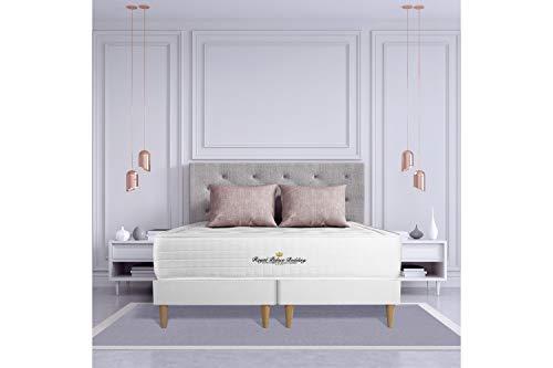 Ensemble Matelas à mémoire de Forme Maxi épaisseur Buckingham 180x200 Double sommier | Epaisseur : 30 cm | Confort : Equilibré