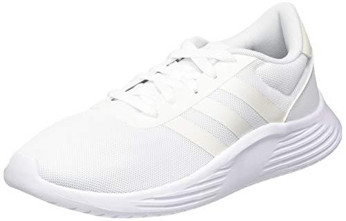 adidas Damen Lite Racer 2.0 Sneaker, Footwear White/Chalk White/Core Black, 40 EU
