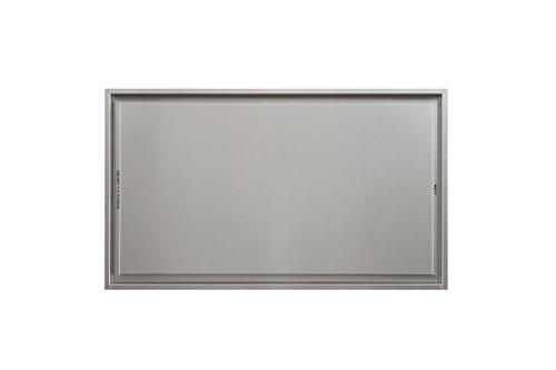 Novy Deckenhaube Pureline 90cm Edelstahl ohne Beleuchtung 6833