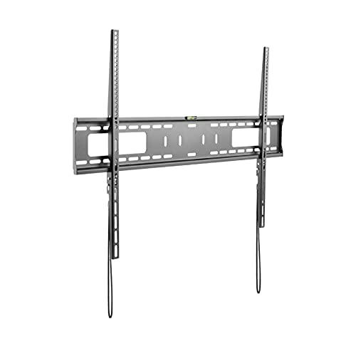 Soporte de TV Ultra delgado TELEVISOR Monte universal fijo TELEVISOR Soporte de montaje en pared 60 '-100' Soporte de montaje de pared de servicio pesado con nivel de espíritu y protección anti-gota S