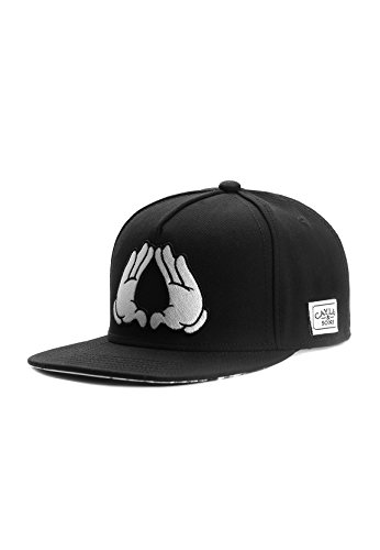 Cayler & Sons Snapback Brooklyn Classic Black White, Size:ONE Size