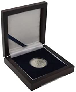 1882 P Silver Morgan Dollar Extra Fine In Mahogany Wooden Display Box Condition Extremely Fine Details