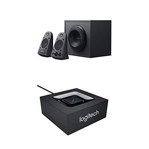 Logitech Z625 2.1 Stereo-Lautsprecher THX (mit Subwoofer) + Bluetooth Audio Adapter