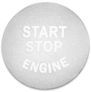 MixFactory para Ford F150 Focus Fiesta Auto Engine Start Stop Button Key Decoration Covers Molduras Interiores Interruptor Circle Ring Trim Protection Sticker Car Styling Accesorio