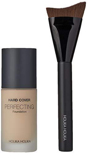 Holika Holika Hard Cover Perfecting Foundation, 03 Sand Ivory, 30 ml