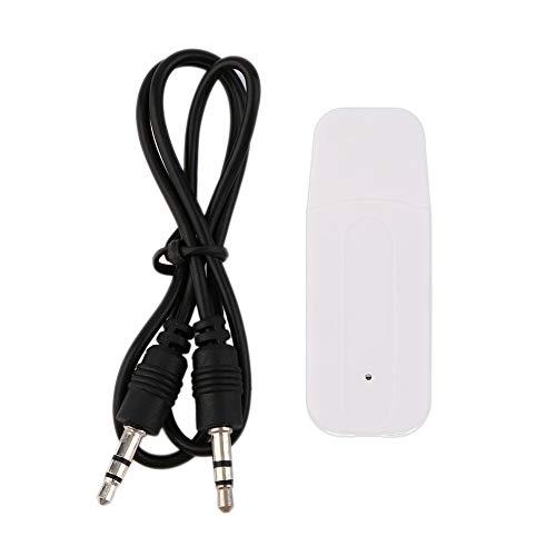 Dongle adaptador de receptor estéreo de audio inalámbrico USB de música portátil...